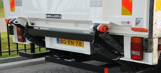 nieuwe 3-ton's dhollandia laadklep voor jan van sundert bv